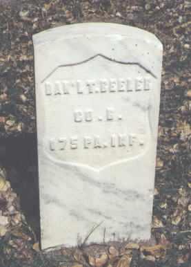 BEELER, DAN'L. T. - Rio Grande County, Colorado | DAN'L. T. BEELER - Colorado Gravestone Photos