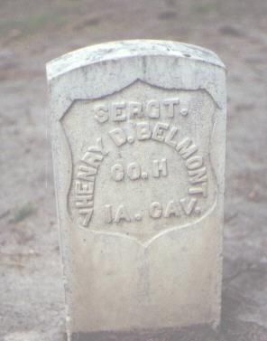 BELMONT, HENRY D. - Rio Grande County, Colorado | HENRY D. BELMONT - Colorado Gravestone Photos