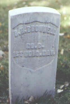 BROWNELL, R. H. - Rio Grande County, Colorado   R. H. BROWNELL - Colorado Gravestone Photos