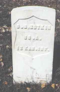 BUTKIN, C. D. - Rio Grande County, Colorado | C. D. BUTKIN - Colorado Gravestone Photos