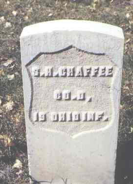 CHAFFEE, S. H. - Rio Grande County, Colorado | S. H. CHAFFEE - Colorado Gravestone Photos