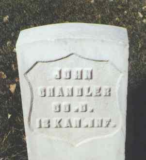 CHANDLER, JOHN - Rio Grande County, Colorado | JOHN CHANDLER - Colorado Gravestone Photos