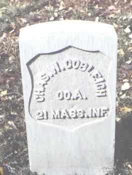 COBLEIGH, CHAS. W. - Rio Grande County, Colorado | CHAS. W. COBLEIGH - Colorado Gravestone Photos