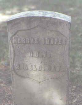 COOPER, MARCUS - Rio Grande County, Colorado | MARCUS COOPER - Colorado Gravestone Photos