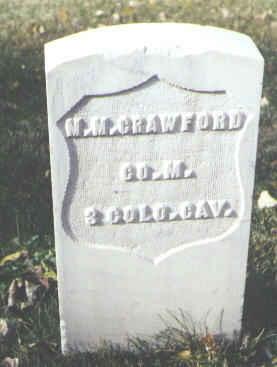 CRAWFORD, M. M. - Rio Grande County, Colorado | M. M. CRAWFORD - Colorado Gravestone Photos