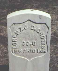 CROOKS, LORENZO D. - Rio Grande County, Colorado | LORENZO D. CROOKS - Colorado Gravestone Photos
