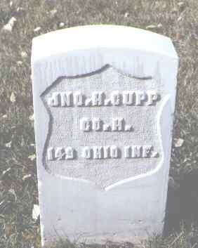 CUPP, JNO. H. - Rio Grande County, Colorado | JNO. H. CUPP - Colorado Gravestone Photos