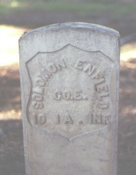 ENFIELD, SOLOMON - Rio Grande County, Colorado | SOLOMON ENFIELD - Colorado Gravestone Photos