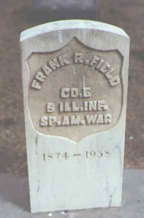 FIELD, FRANK R. - Rio Grande County, Colorado | FRANK R. FIELD - Colorado Gravestone Photos