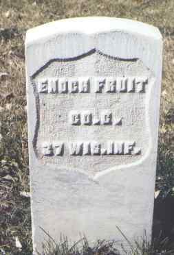 FRUIT, ENOCH - Rio Grande County, Colorado | ENOCH FRUIT - Colorado Gravestone Photos