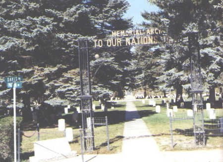 GATE, CEMETERY - Rio Grande County, Colorado | CEMETERY GATE - Colorado Gravestone Photos