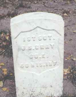 GRAY, J. S. - Rio Grande County, Colorado | J. S. GRAY - Colorado Gravestone Photos