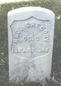 GREGORY, GEO. - Rio Grande County, Colorado | GEO. GREGORY - Colorado Gravestone Photos