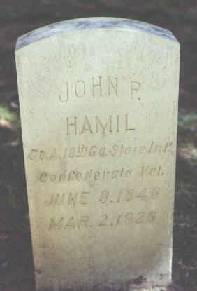 HAMIL, JOHN P. - Rio Grande County, Colorado   JOHN P. HAMIL - Colorado Gravestone Photos