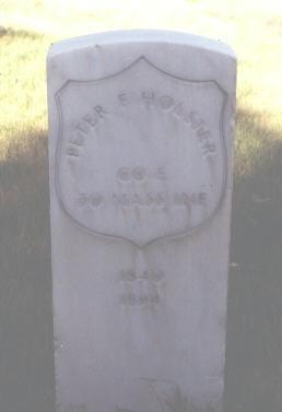 HOLSTER, PETER F. - Rio Grande County, Colorado | PETER F. HOLSTER - Colorado Gravestone Photos