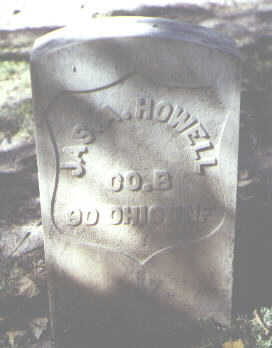 HOWELL, JAS. A. - Rio Grande County, Colorado | JAS. A. HOWELL - Colorado Gravestone Photos