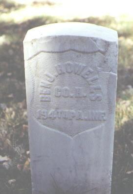 HOWELLS, BENJ. - Rio Grande County, Colorado   BENJ. HOWELLS - Colorado Gravestone Photos