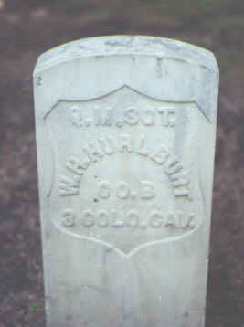 HURLBURT, W. H. - Rio Grande County, Colorado | W. H. HURLBURT - Colorado Gravestone Photos