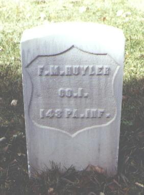 HUYLER, F. M. - Rio Grande County, Colorado | F. M. HUYLER - Colorado Gravestone Photos