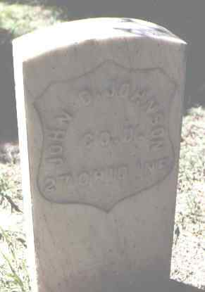 JOHNSON, JOHN D, - Rio Grande County, Colorado | JOHN D, JOHNSON - Colorado Gravestone Photos