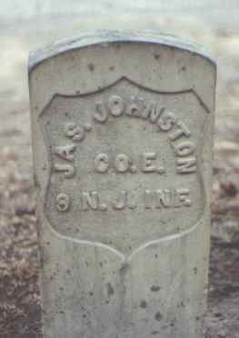 JOHNSTON, JAS. - Rio Grande County, Colorado | JAS. JOHNSTON - Colorado Gravestone Photos