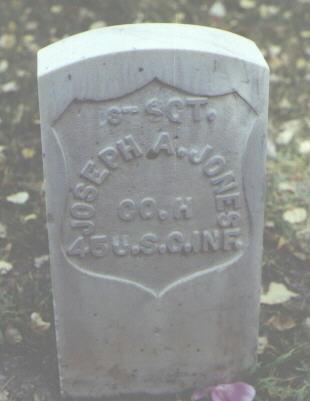 JONES, JOSEPH A. - Rio Grande County, Colorado | JOSEPH A. JONES - Colorado Gravestone Photos