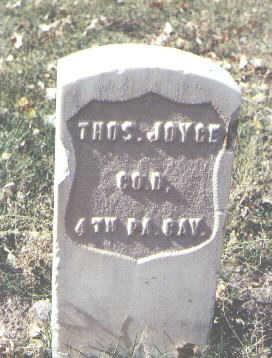 JOYCE, THOS. - Rio Grande County, Colorado | THOS. JOYCE - Colorado Gravestone Photos