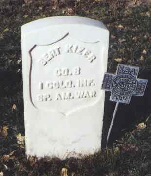 KIZER, BERT - Rio Grande County, Colorado | BERT KIZER - Colorado Gravestone Photos