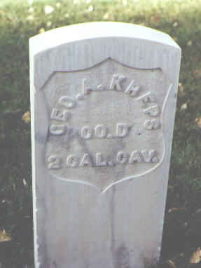 KREPS, GEO. A. - Rio Grande County, Colorado | GEO. A. KREPS - Colorado Gravestone Photos