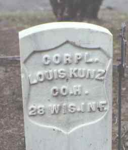 KUNZ, LOUIS - Rio Grande County, Colorado | LOUIS KUNZ - Colorado Gravestone Photos