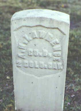 LAWRENCE, A. H. - Rio Grande County, Colorado | A. H. LAWRENCE - Colorado Gravestone Photos