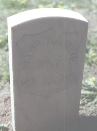 LEWIS, DAVID D. - Rio Grande County, Colorado   DAVID D. LEWIS - Colorado Gravestone Photos