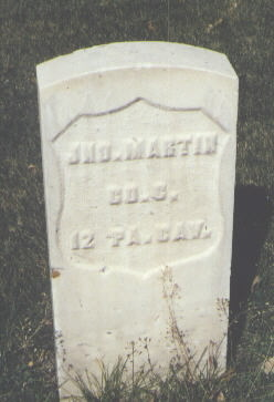 MARTIN, JNO. - Rio Grande County, Colorado | JNO. MARTIN - Colorado Gravestone Photos