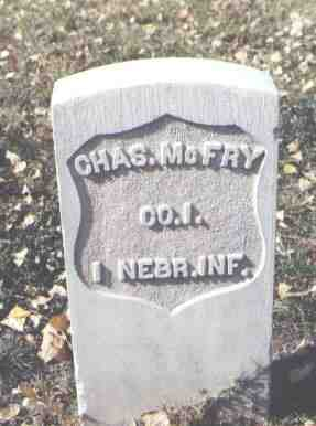 MCFRY, CHAS. - Rio Grande County, Colorado | CHAS. MCFRY - Colorado Gravestone Photos