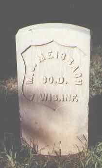 MEISBAGH, M. J. - Rio Grande County, Colorado | M. J. MEISBAGH - Colorado Gravestone Photos