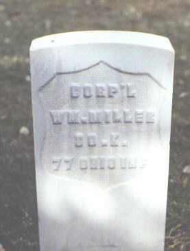 MILLER, WM. - Rio Grande County, Colorado | WM. MILLER - Colorado Gravestone Photos