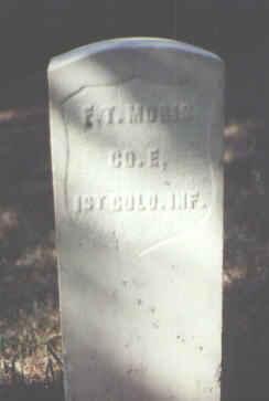 MORIS, F. T. - Rio Grande County, Colorado | F. T. MORIS - Colorado Gravestone Photos