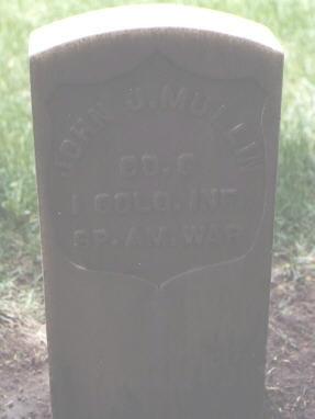 MULLIN, JOHN J. - Rio Grande County, Colorado   JOHN J. MULLIN - Colorado Gravestone Photos