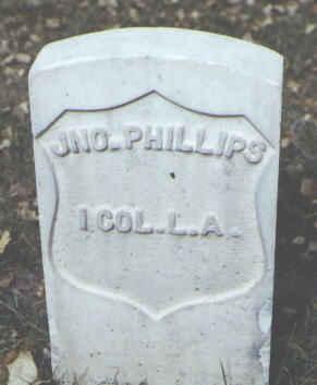 PHILLIPS, JNO. - Rio Grande County, Colorado | JNO. PHILLIPS - Colorado Gravestone Photos