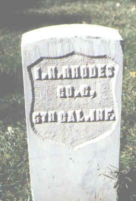 RHODES, I. N. - Rio Grande County, Colorado | I. N. RHODES - Colorado Gravestone Photos