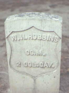 ROBBINS, W. H. - Rio Grande County, Colorado | W. H. ROBBINS - Colorado Gravestone Photos