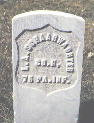 SCHAARWACHTER, L. A. - Rio Grande County, Colorado   L. A. SCHAARWACHTER - Colorado Gravestone Photos