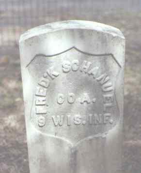 SCHANUEL, FRED'K - Rio Grande County, Colorado | FRED'K SCHANUEL - Colorado Gravestone Photos