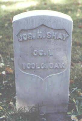 SHAY, JOS. H. - Rio Grande County, Colorado | JOS. H. SHAY - Colorado Gravestone Photos