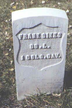 SIKES, FRANK - Rio Grande County, Colorado | FRANK SIKES - Colorado Gravestone Photos