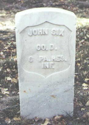 SIX, JOHN - Rio Grande County, Colorado | JOHN SIX - Colorado Gravestone Photos
