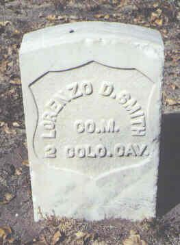 SMITH, LORENZO D. - Rio Grande County, Colorado | LORENZO D. SMITH - Colorado Gravestone Photos