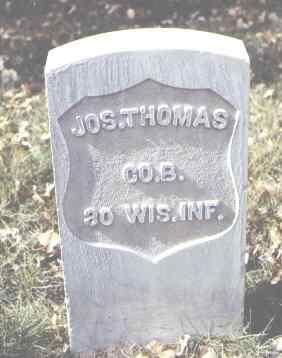 THOMAS, JOS. - Rio Grande County, Colorado | JOS. THOMAS - Colorado Gravestone Photos