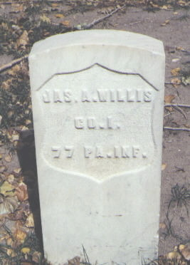 WILLIS, JAS. A. - Rio Grande County, Colorado | JAS. A. WILLIS - Colorado Gravestone Photos