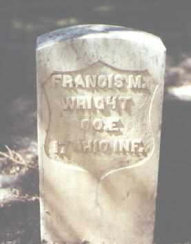 WRIGHT, FRANCIS M. - Rio Grande County, Colorado   FRANCIS M. WRIGHT - Colorado Gravestone Photos